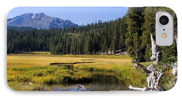 Lassen Mountain Stream IPhone Case