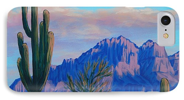 Last Light On The Superstitions IPhone Case