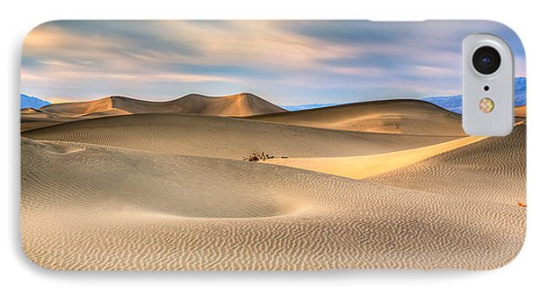 Late Afternoon At The Mesquite Dunes IPhone Case