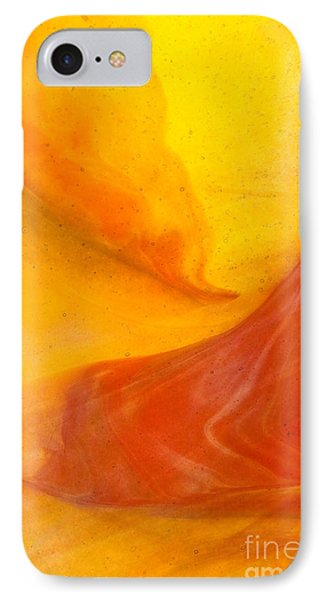 Lava Swirl Glass Abstact IPhone Case