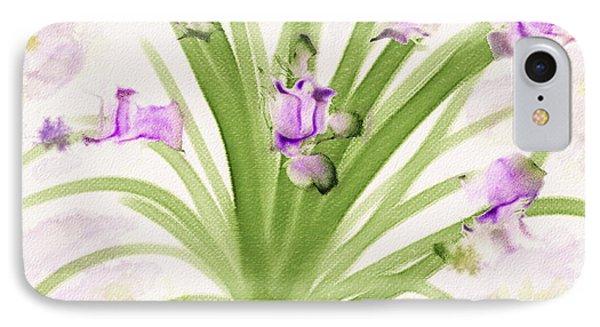 Lavendar Blossoms IPhone Case