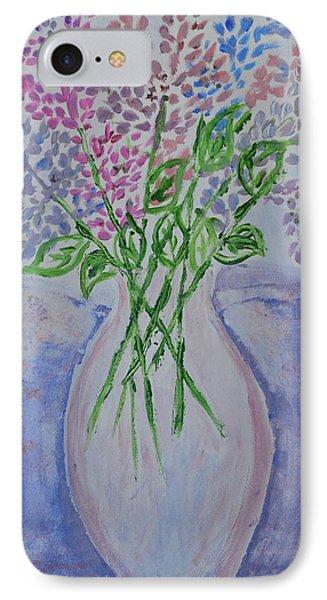 Lavendar  Flowers IPhone Case
