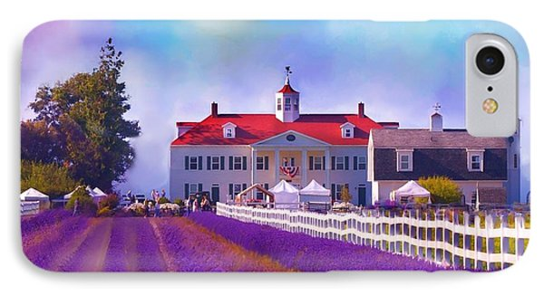 Lavender Fields IPhone Case