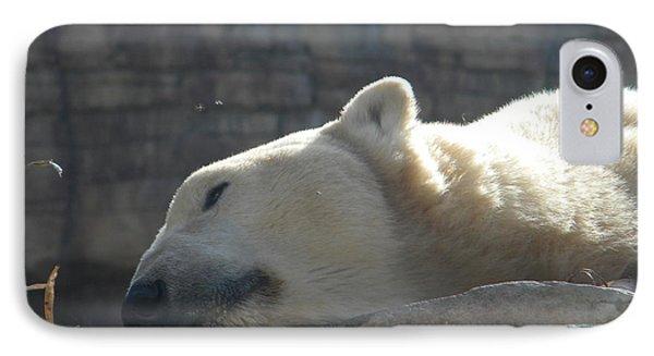 Lazy Polar Bear IPhone Case