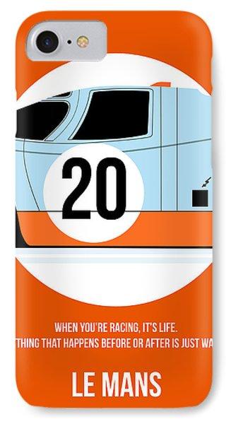 Le Mans Poster 2 IPhone Case