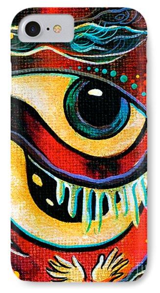 Leadership Spirit Eye IPhone Case