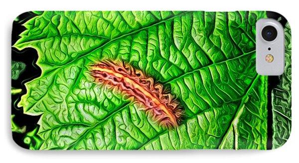Leaf Eater IPhone Case