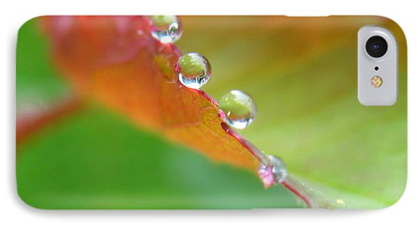 Leaf Pearls IPhone Case