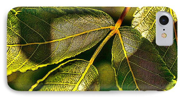 Leaf Texture IPhone Case