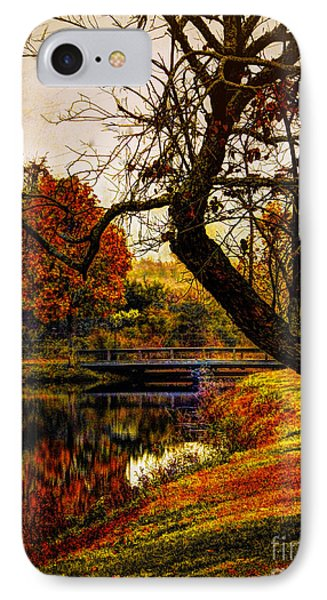 Leaning Toward Fall  IPhone Case