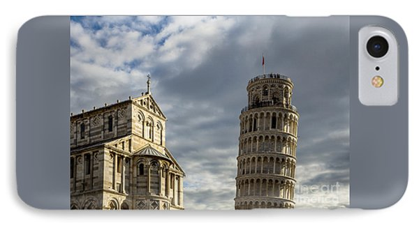 Leaning Tower And Duomo Di Pisa IPhone Case