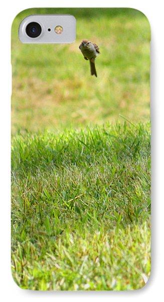 Leaping Bird IPhone Case