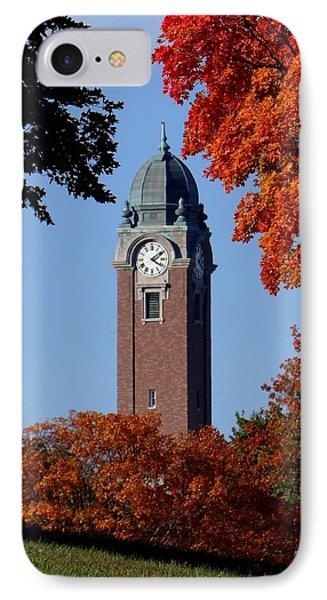 Leavenworth Grant Hall Tower IPhone Case