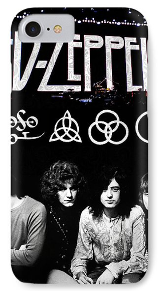 Drum iPhone 8 Case - Led Zeppelin by FHT Designs