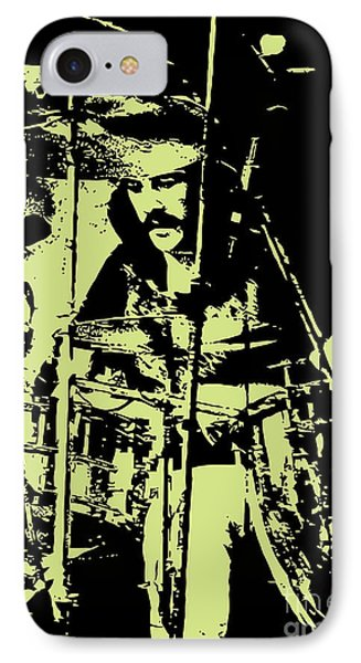 Drum iPhone 8 Case - Led Zeppelin No.05 by Geek N Rock