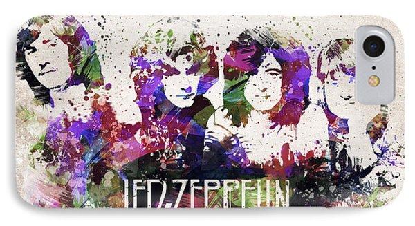 Led Zeppelin Portrait IPhone Case