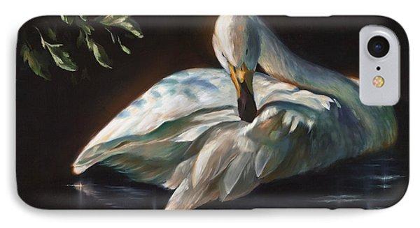 Leda's Swan IPhone Case
