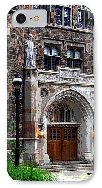 Lehigh University Bethlehem Packard Laboratory IPhone Case