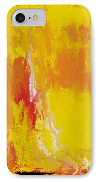 Lemon Yellow Sun IPhone Case