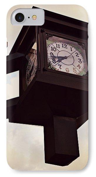Lenoir North Carolina Town Clock IPhone Case