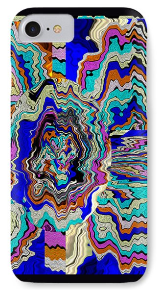 Original Abstract Art Painting Let Life Bloom IPhone Case