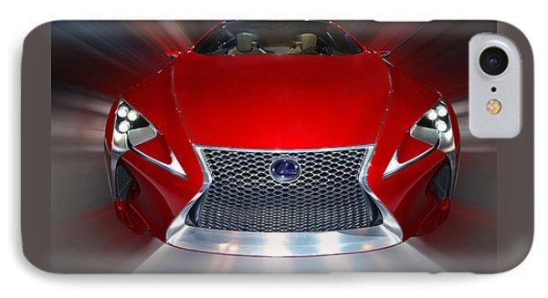 Lexus L F - L C Hybrid 2013 IPhone Case