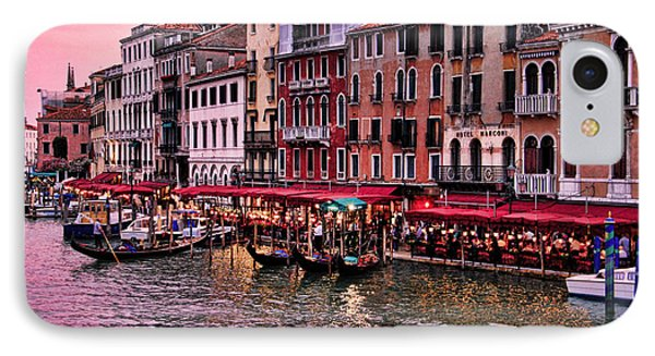Life On The Grand Canal IPhone Case