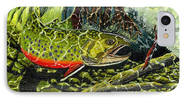 Life Under The Brook IPhone Case
