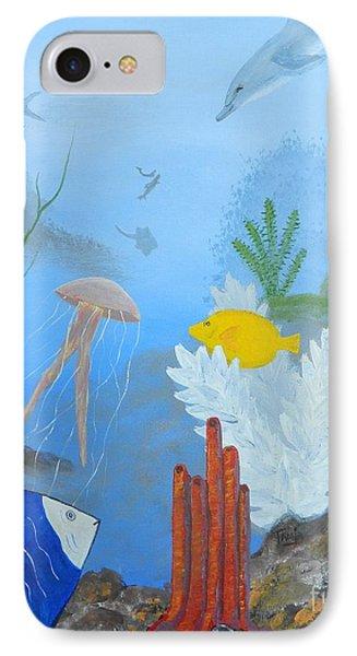 Life Under The Ocean Sea IPhone Case
