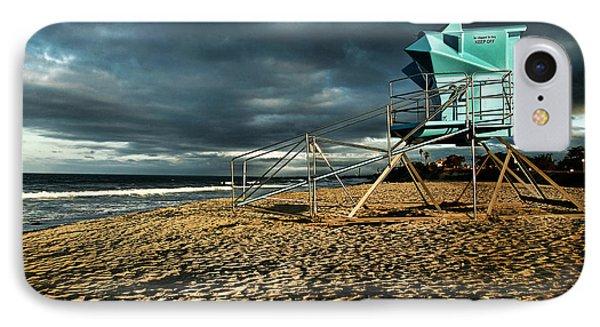 Lifeguard Tower Series - 9 IPhone Case