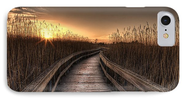 Light At The End Of The Road IPhone Case