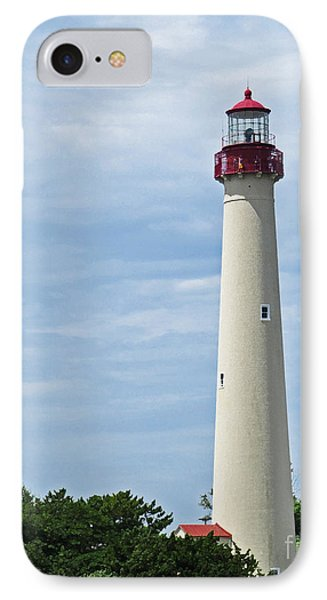 Light House At Cape May Nj IPhone Case