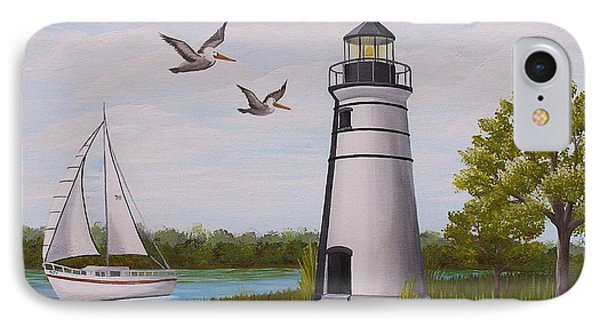 Light  In Madisonville IPhone Case