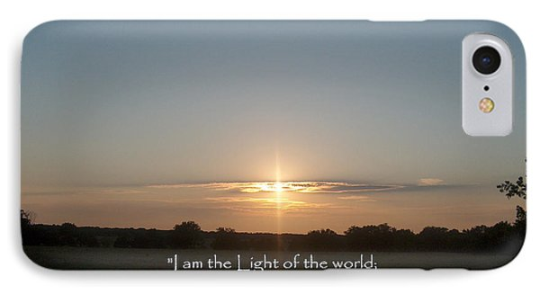 Light Of The World IPhone Case
