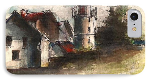 Lighthouse By Day IPhone Case