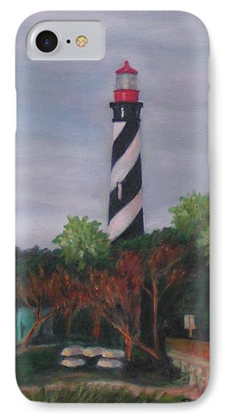 Lighthouse Morning IPhone Case