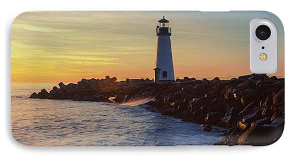 Lighthouse On The Coast At Dusk, Walton IPhone Case