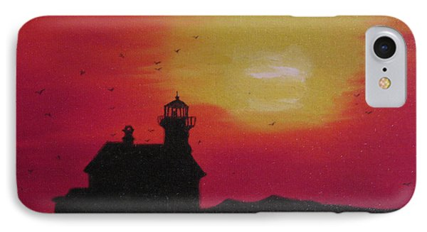 Lighthouse Silhouette IPhone Case