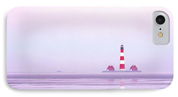 Lighthouse Westerhever North Sea Germany IPhone Case