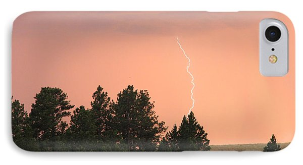 Lighting Strikes In Custer State Park IPhone Case