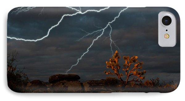 Lightning, Joshua Tree Highway IPhone Case