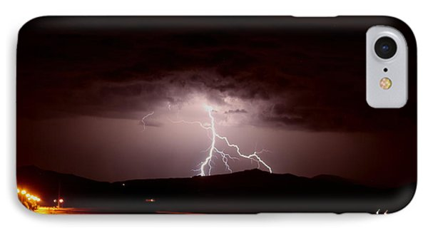 Lightning Mountain IPhone Case