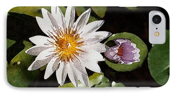 Lily Flowers IPhone Case