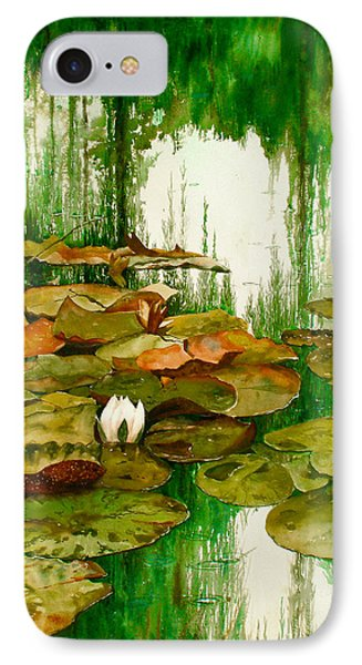 Reflections Among The Lily Pads IPhone Case