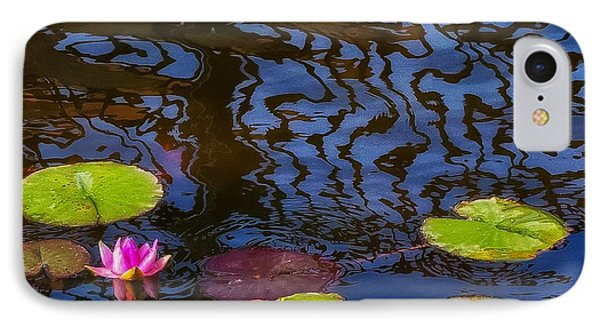 Lily Pond Abstract A Study In Patterns IPhone Case
