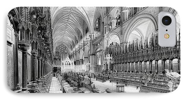 Lincoln Cathedral The Choir I IPhone Case