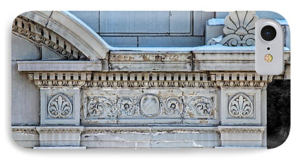 Lincoln County Courthouse Door Arch IPhone Case