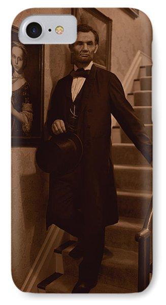 Lincoln Descending Staircase IPhone Case