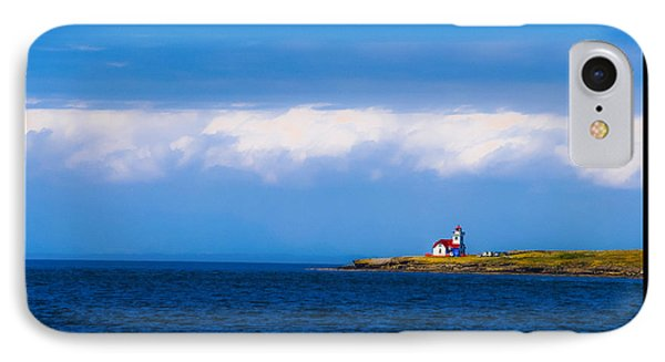 Light House In British Columbia IPhone Case