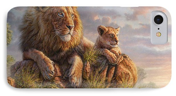 Africa iPhone 8 Case - Lion Pride by Phil Jaeger